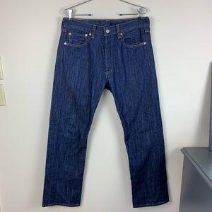 Levi's 501 Regular Straight dark wash Jeans